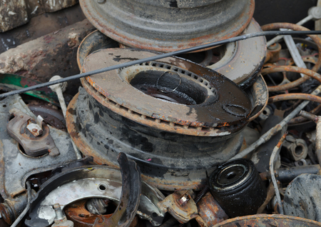 worthless: Useless, worn out old rusty brake discs