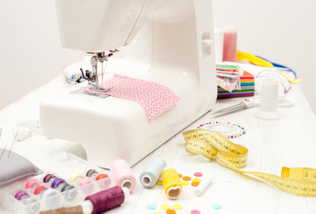 Sewing Sewing On The Sewing Machine Sewing Supplies Colored Interesting White 5500 Sewing Machine