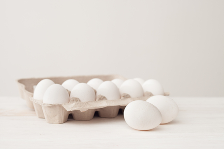healer: store-bought eggs, holiday Easter, diet food, weight loss, allergies, healthy eating, healer, alternative medicine, eggs under the painting Stock Photo