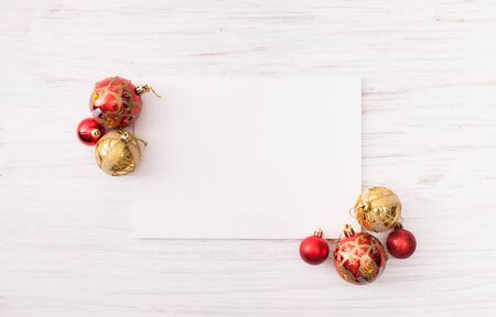 Christmas background image with space for text insertion. Stock Photo