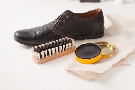 Shoe care cream. Use of eco-friendly materials in Shoe Polish.