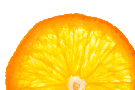 Orange circle isolated for insertion into the design pattern