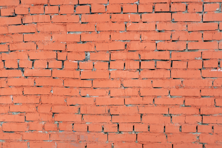 Image of an old red brick wall Stock Photo