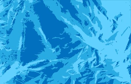 Vector abstract blue texture background of a sharp manipulable figures