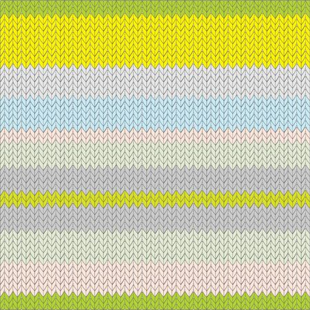 knitted texture, pattern, with a horizontal stripe, different gentle color Stock Vector - 17500171