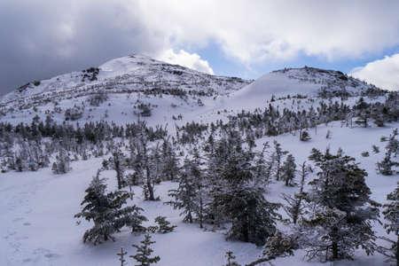 뉴욕의 Adirondack 산에있는 Mount Marcy의 정상 회담
