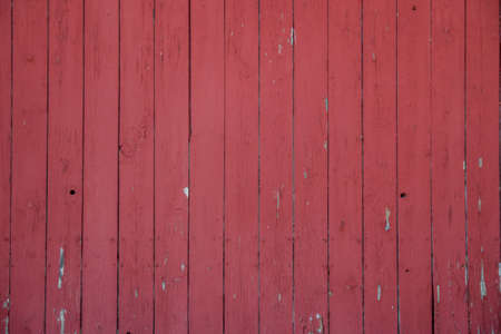 barnwood: close up of the side of a red barn Stock Photo