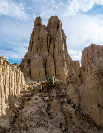 A natural stone Monument in Valley of the moon - Valle de la Luna, Bolivia
