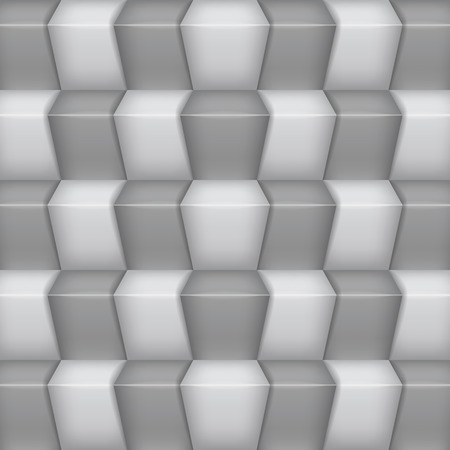 rung: Abstract stairway background  White and grey Illustration