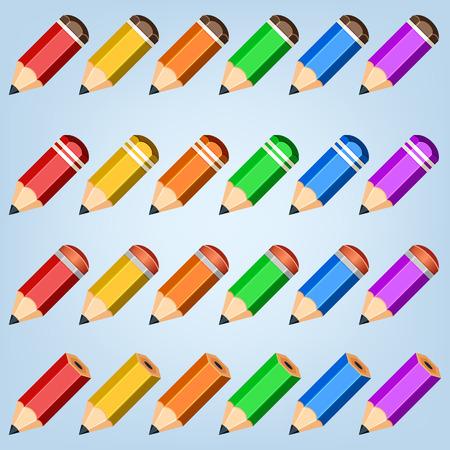 Color pencil collection.
