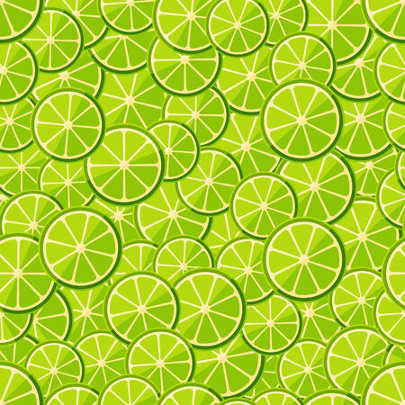 chopped: Seamless pattern chopped lime. Vector illustration in eps10