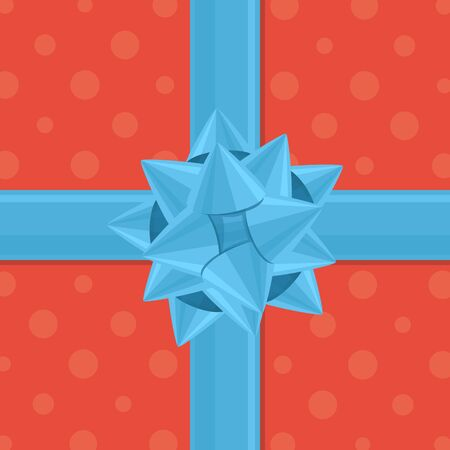 gift wrapping: gift wrapping with bow.