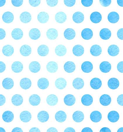 polka dots: Watercolor polka dots