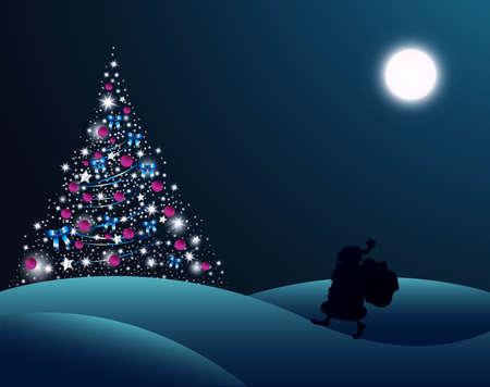 Christmas postcard Stock Vector - 17006194