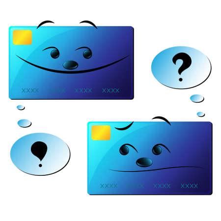 borrowing money: Faces Illustration