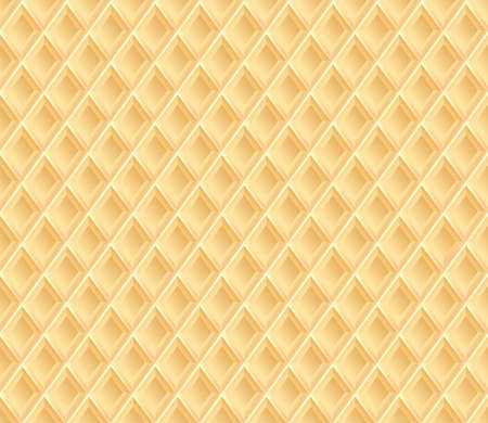 waffle: Waffle texture. Vector background. Illustration