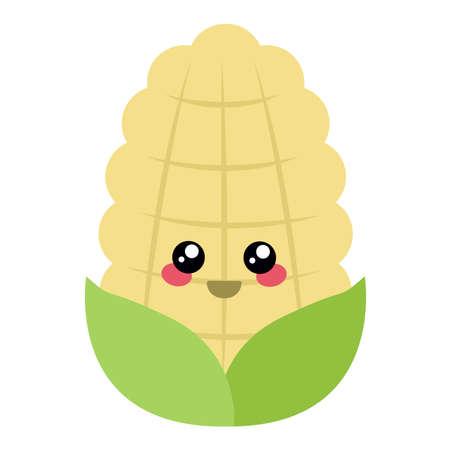 Cartoon corn Illustration