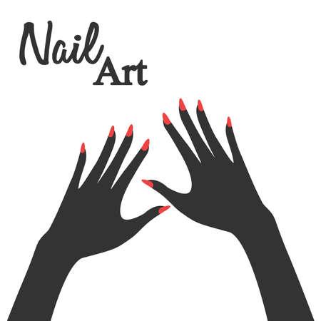 Nail Art Vector Illustration Royalty Free Cliparts Vectors And