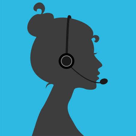 Telephone operator girl