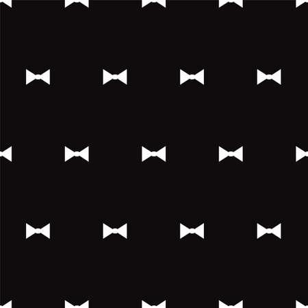 black and white: White bows on black background