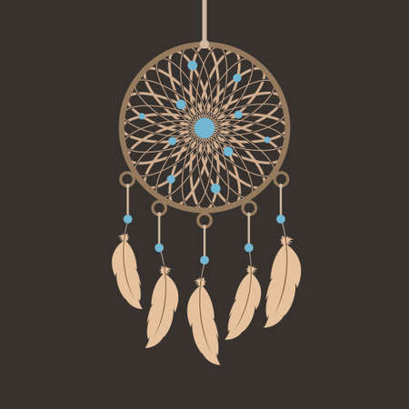 swelled: Dream catcher. Ethno style