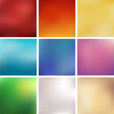 backgrounds: Abstract blurred vector backgrounds