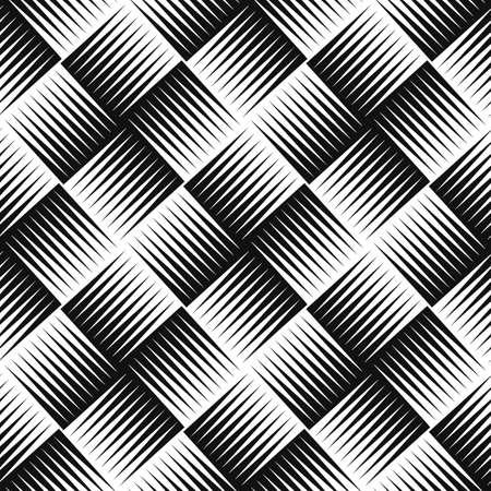 Modello astratto. Modello vettoriale senza soluzione di continuità. Ornamento geometrico Vettoriali