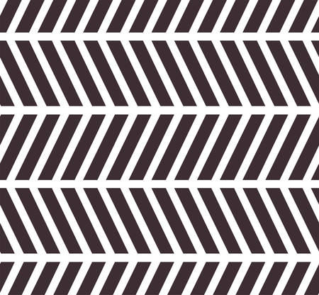 Vector zigzag seamless pattern. Abstract background Ilustração
