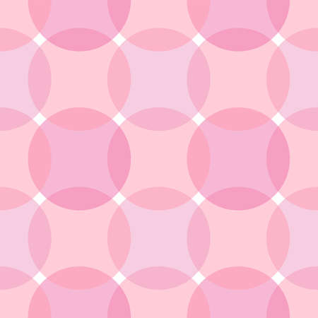 Pink abstract seamless pattern. Vector background
