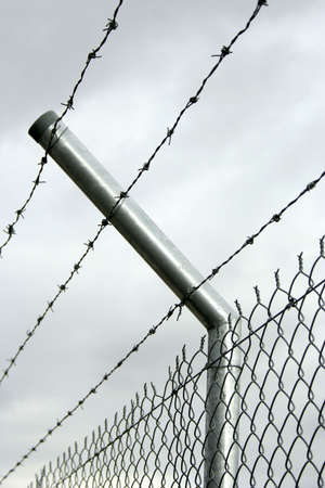 security fence Stock Photo - 3829844