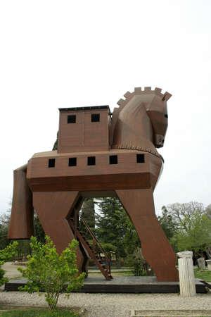 Trojaans paard  Stockfoto - 4459981