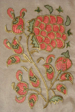 dowry: An example of antique turkish needlework