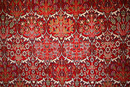 Beautiful turkish carpet with pattern