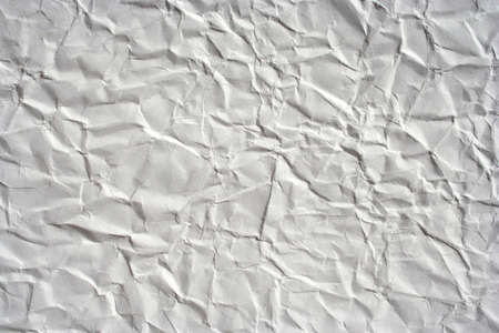 wrinkled white color paper as background.  Stock Photo - 4604679