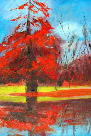 nature painting as background Фото со стока