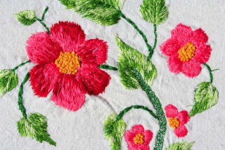 トルコの刺繍の例 写真素材