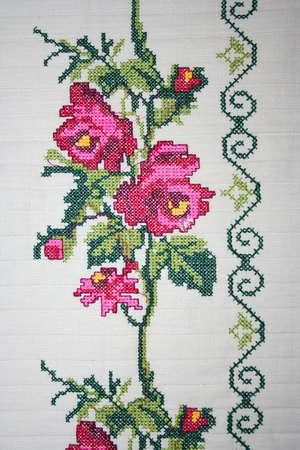embroidery Фото со стока