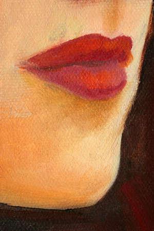 portrait paintings detail photo