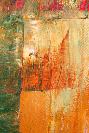 oil on canvas: abstract as background. Art is created and painted by photographer.