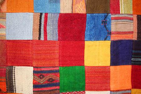 patchwork Foto de archivo