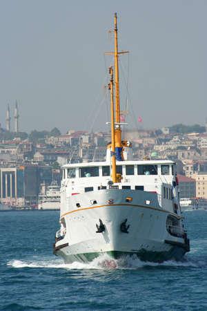 seabus: ship in istanbul
