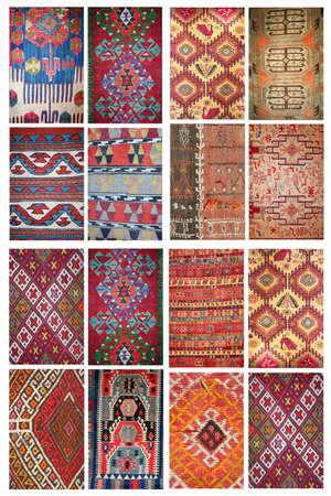 Tappeti come collage Archivio Fotografico - 11738805