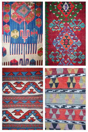 oriental rug: carpet collage