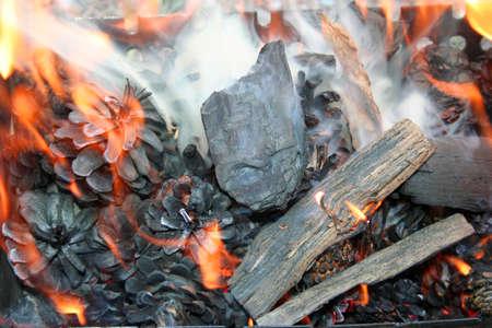 blazes: fire