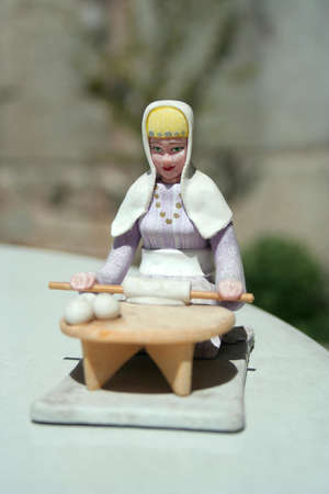 turkish woman: traditional turkish woman, toy