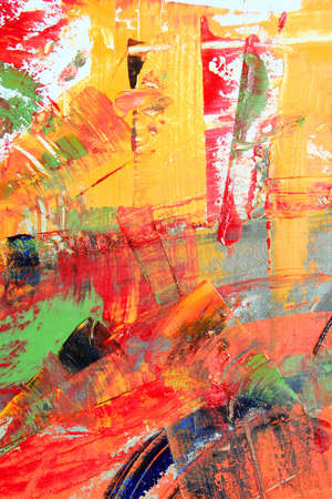 abstract painting: abstract artwork Stock Photo