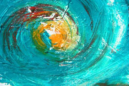 pinturas abstractas: obra de arte como backgorund Foto de archivo