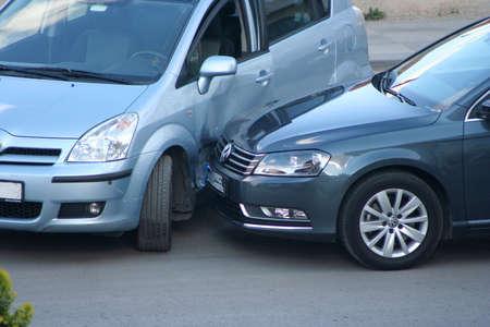 Incidente stradale Archivio Fotografico - 14581557