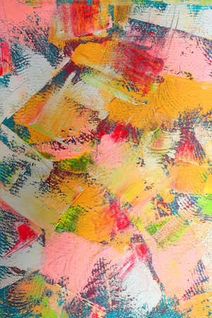 abstract paintings: abstract background Stock Photo