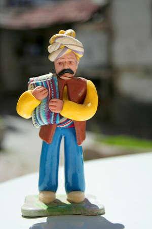 turkish man: toy made by dough, traditional turkish man toy Stock Photo